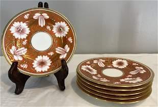 Set of 6 Spode Porcelain Dishes