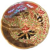 19th Cent English Worcester Imari Porcelain Bowl