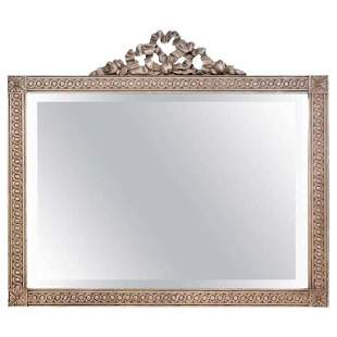 French Swedish Painted Mirror (102-4907)