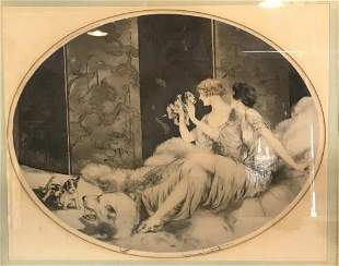 Louis Icart - Etching