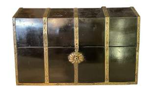 Antique Wooden Chinese Jewelry Box (101)