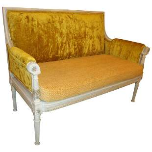 Maison Jansen Style Settee in a Swedish Finish