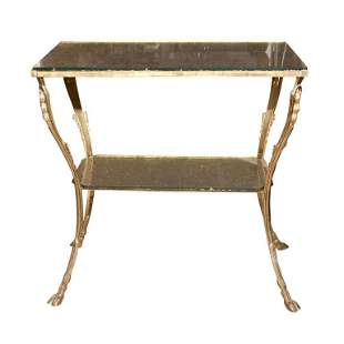 Hollywood Regency Two-Tiered Stand (102-32721)