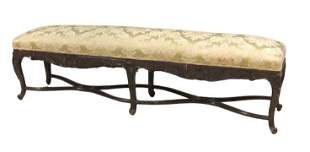 Country French Style 6 Legged Long Bench