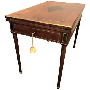 19th Century Roulette Games Flip Top Games Table
