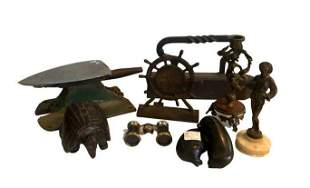 Assorted Collection of Bronze & Iron Articles