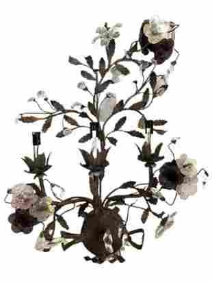 Floral Sconces