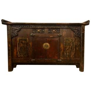 Chinese Alter Table, Coffer, Sideboard