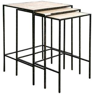 Set of 3 Nesting Tables by E J Victor