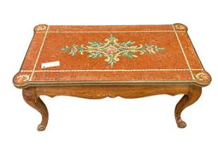 French IXV Style Walnut Coffee Table