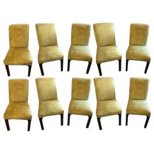 Set of 10 Schneller & Sons Dining Chairs