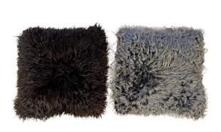 Two Furry Pillows