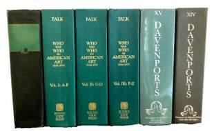 5 Hardcover Art Reference / Davenport Books