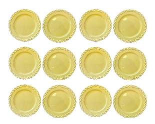 Set of 12 Biordallo Pinheiro Portuguese Plates