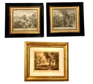3 Framed Prints