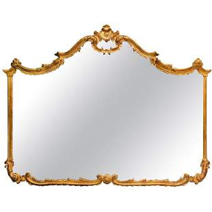 Large over the Mantel Sideboard or Console Mirror