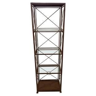 Industrial Shelf Unit or Etagere