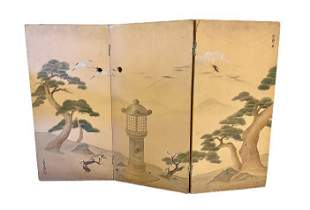 3 Screen Chinese Panel Divider