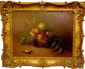 B. Bennay Oil On Canvas