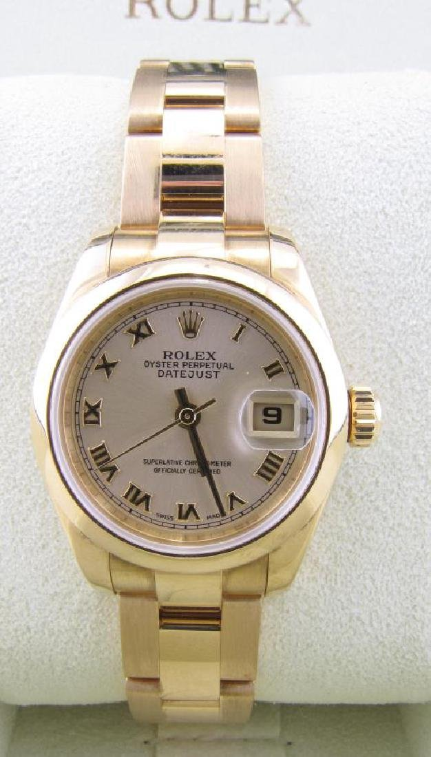 Lady's 18K Rolex Datejust Wristwatch