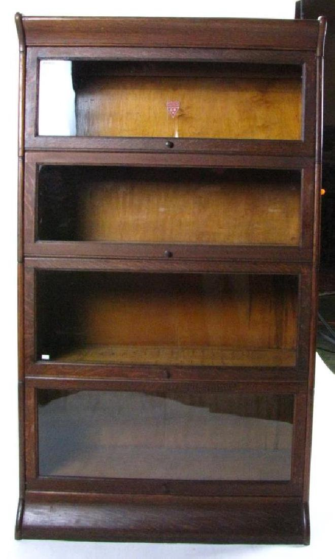 Antique Barrister Bookcase - 2