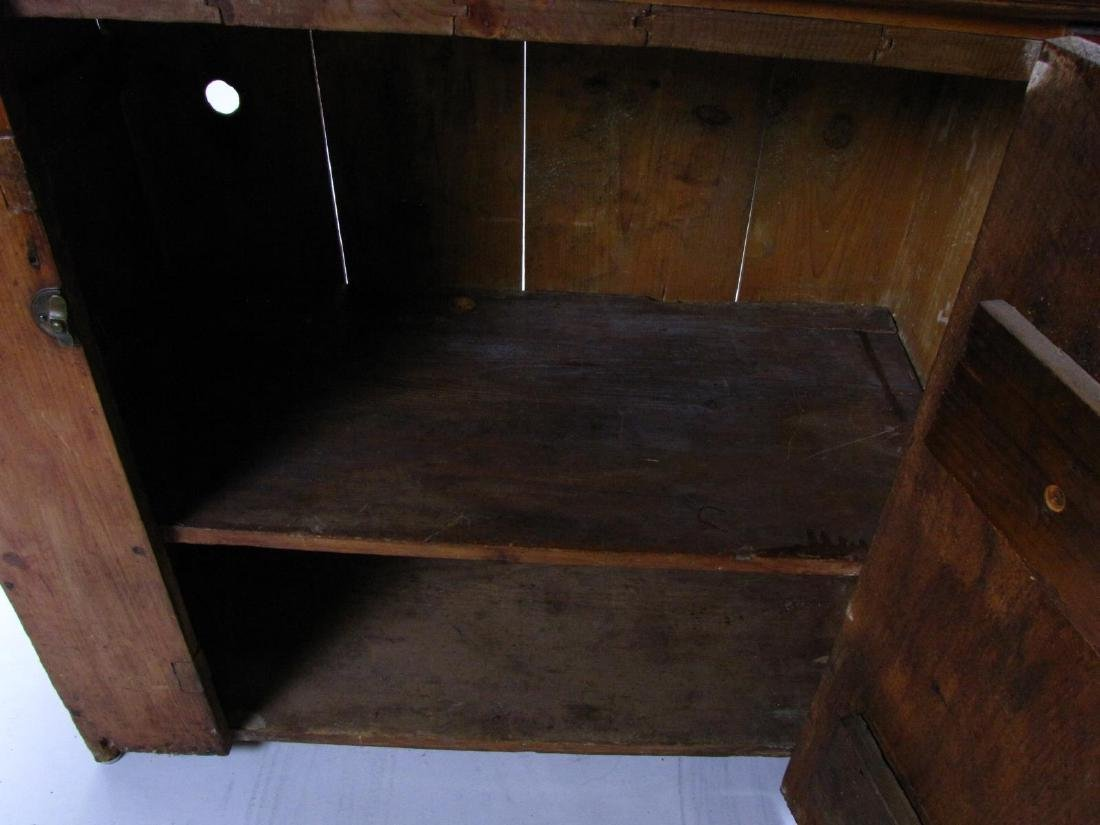 Antique Copper-Lined Dry Sink - 5