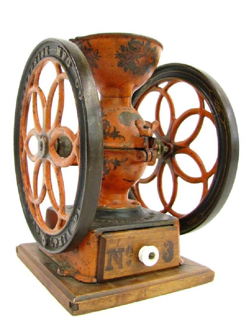 Antique Cast Iron Enterprise No.2 Coffee Grinder