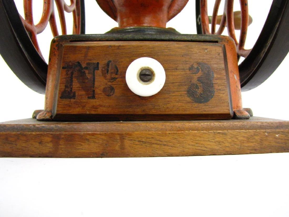 Antique Cast Iron Enterprise No.2 Coffee Grinder - 5