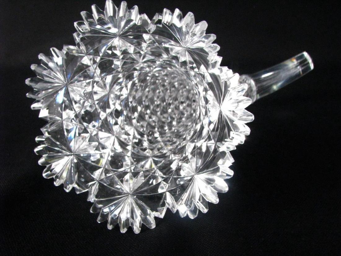 Russian Cut Glass Cornucopia - 2