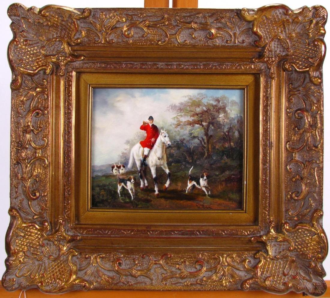 Decorator Oil Painting, Fox Hunt