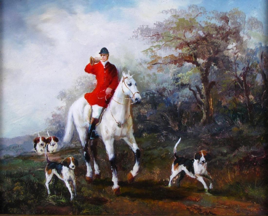 Decorator Oil Painting, Fox Hunt - 2