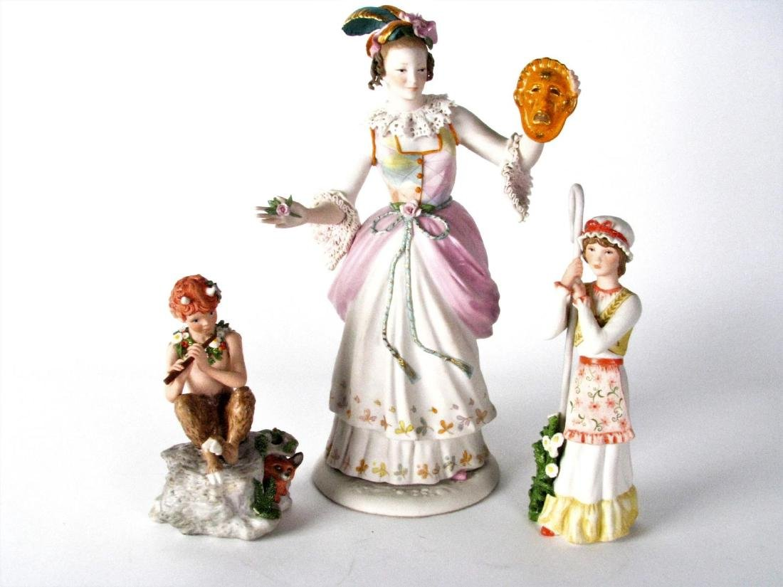 Three Cybis Porcelain Figures