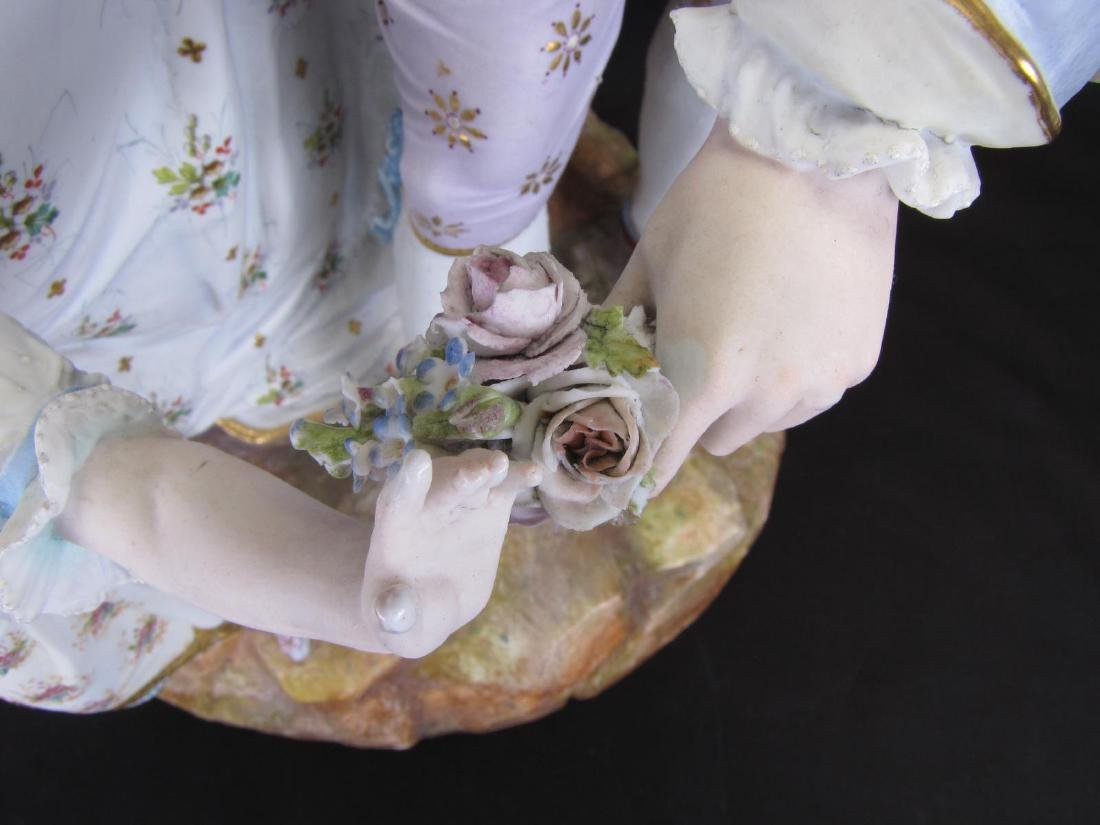 French Bisque Porcelain Figural Grouping - 2