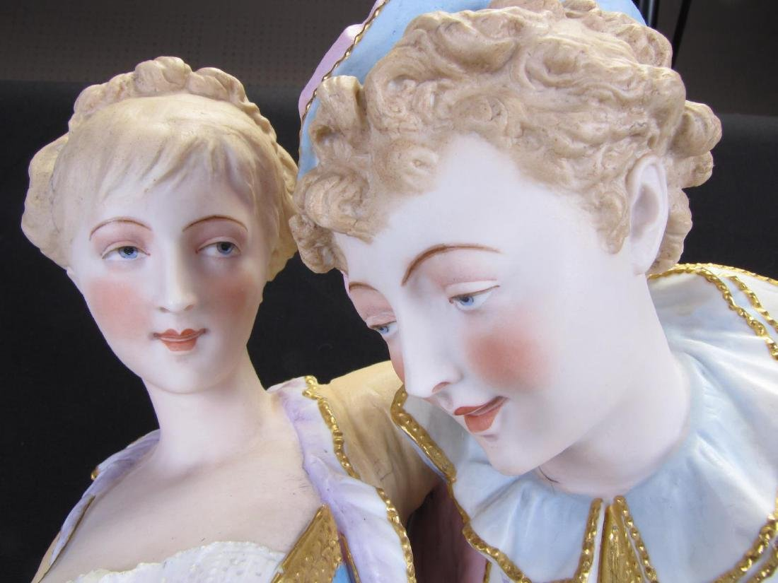 French Bisque Porcelain Figural Grouping - 4