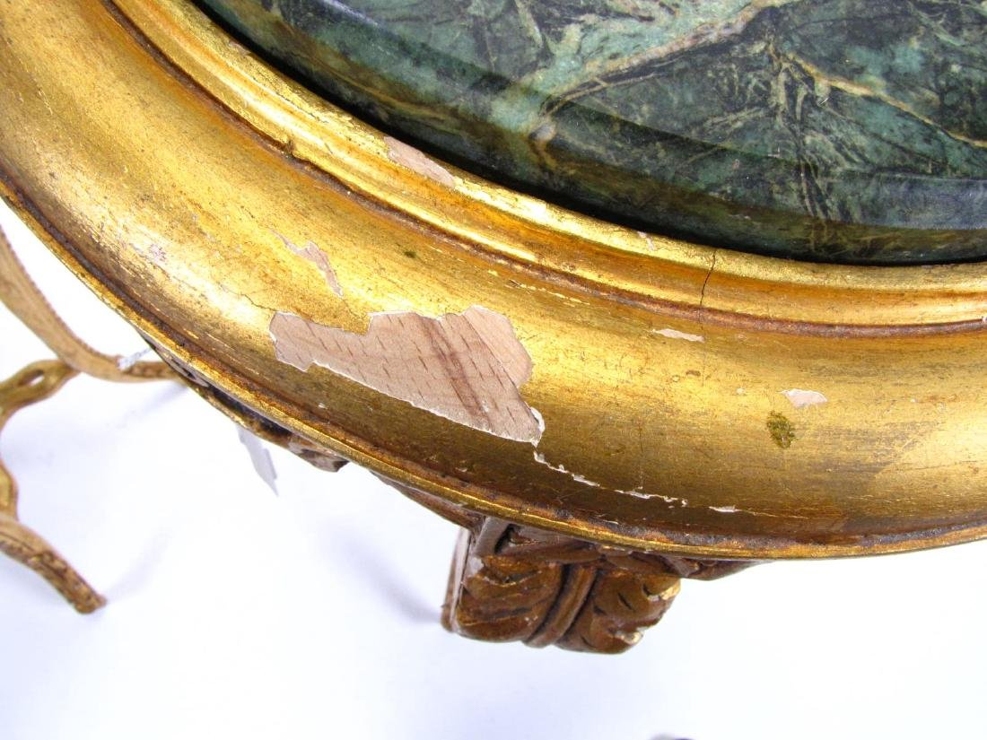 Pair of Gilded Wood Plant Stands - 2