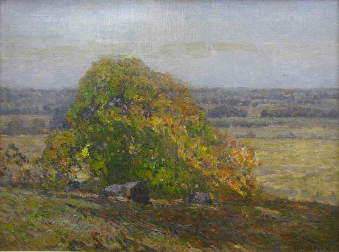 Wm J Forsyth 18x24 O/C Landscape, Panorama