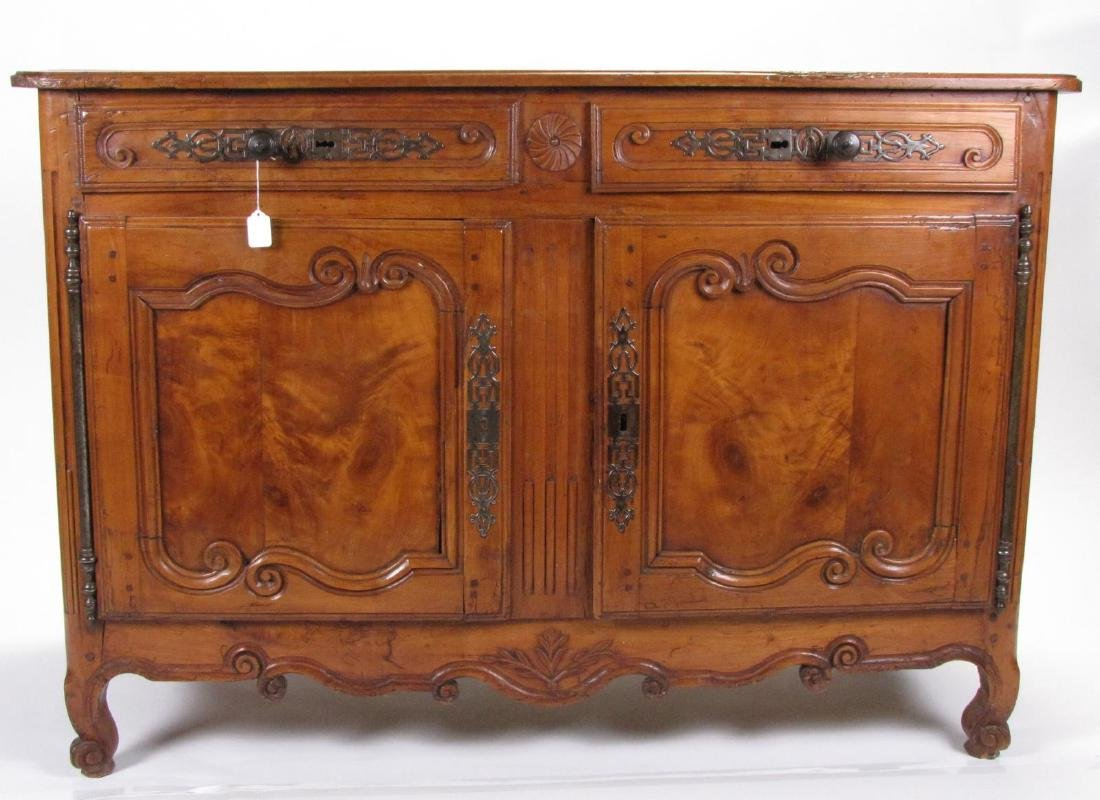 18th Century French Cherry Provencal Sideboard