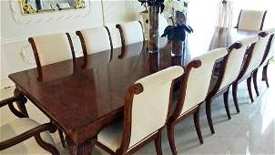 Period Style Dining Room Group, Baker, Henredon