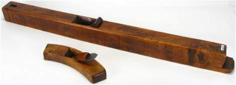 Two Antique Wood Planes