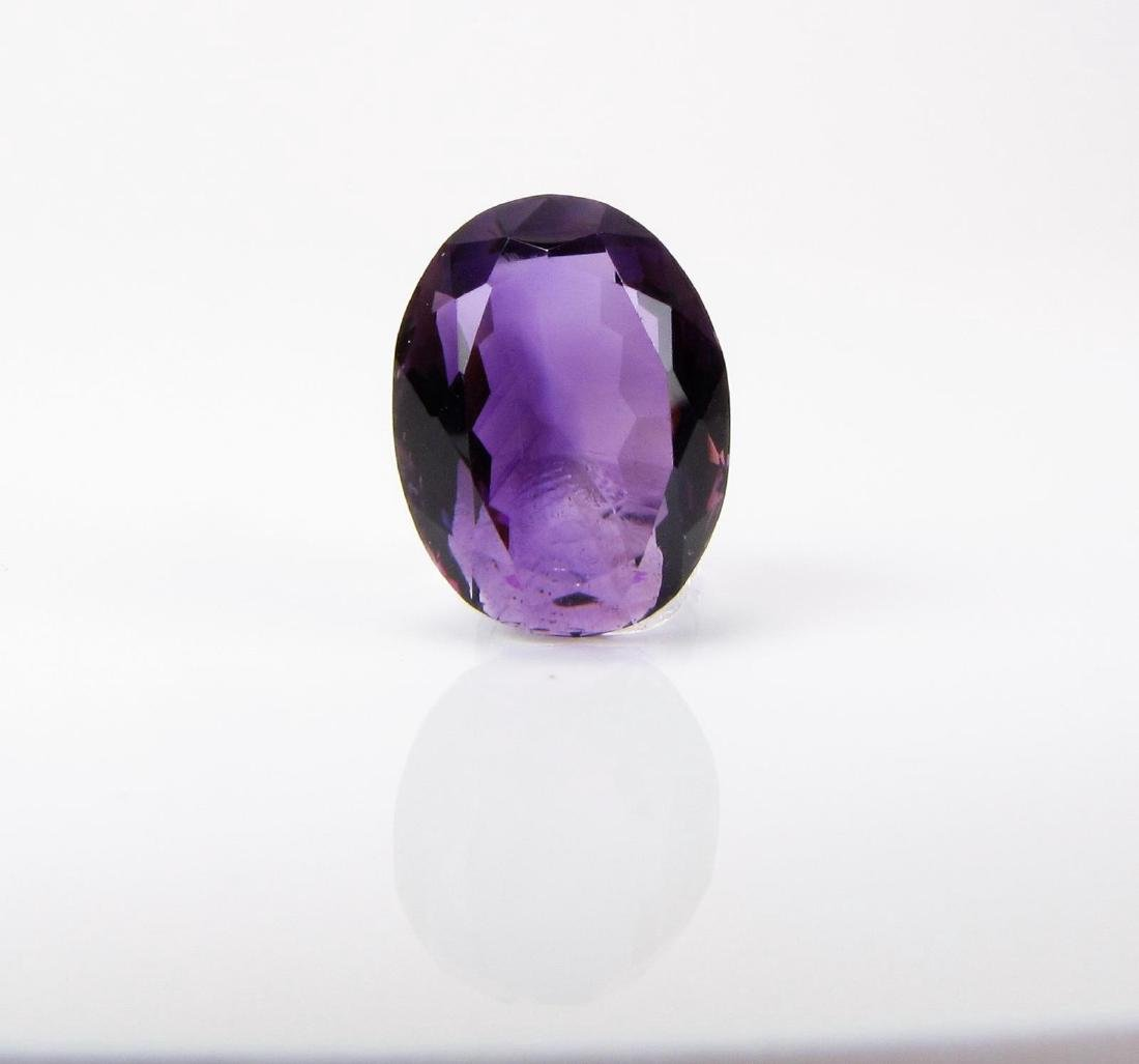 10.73CT Oval Amethyst Loose Stone
