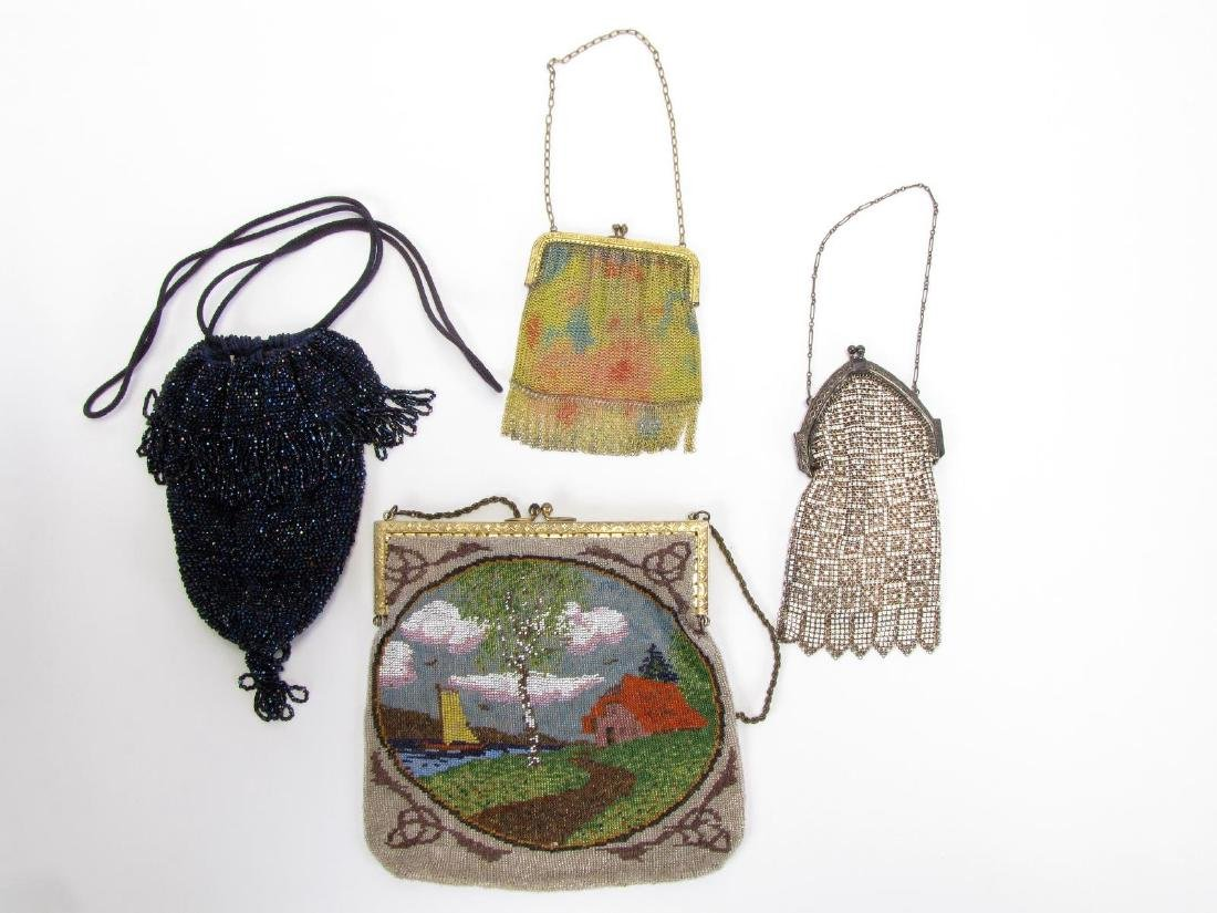 Group of Antique and Vintage Purses