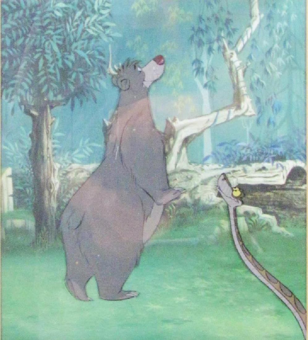"""Disney Animation Cel, from """"Jungle Book"""""""
