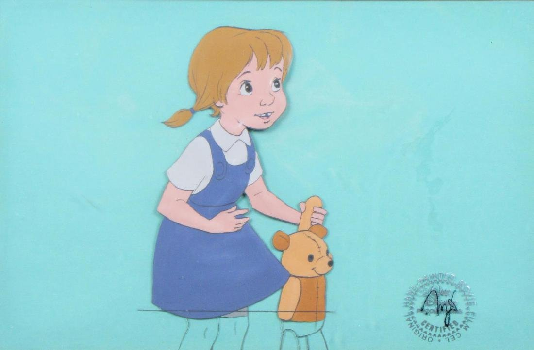 "Disney Animation Cel, ""The Rescuers"""
