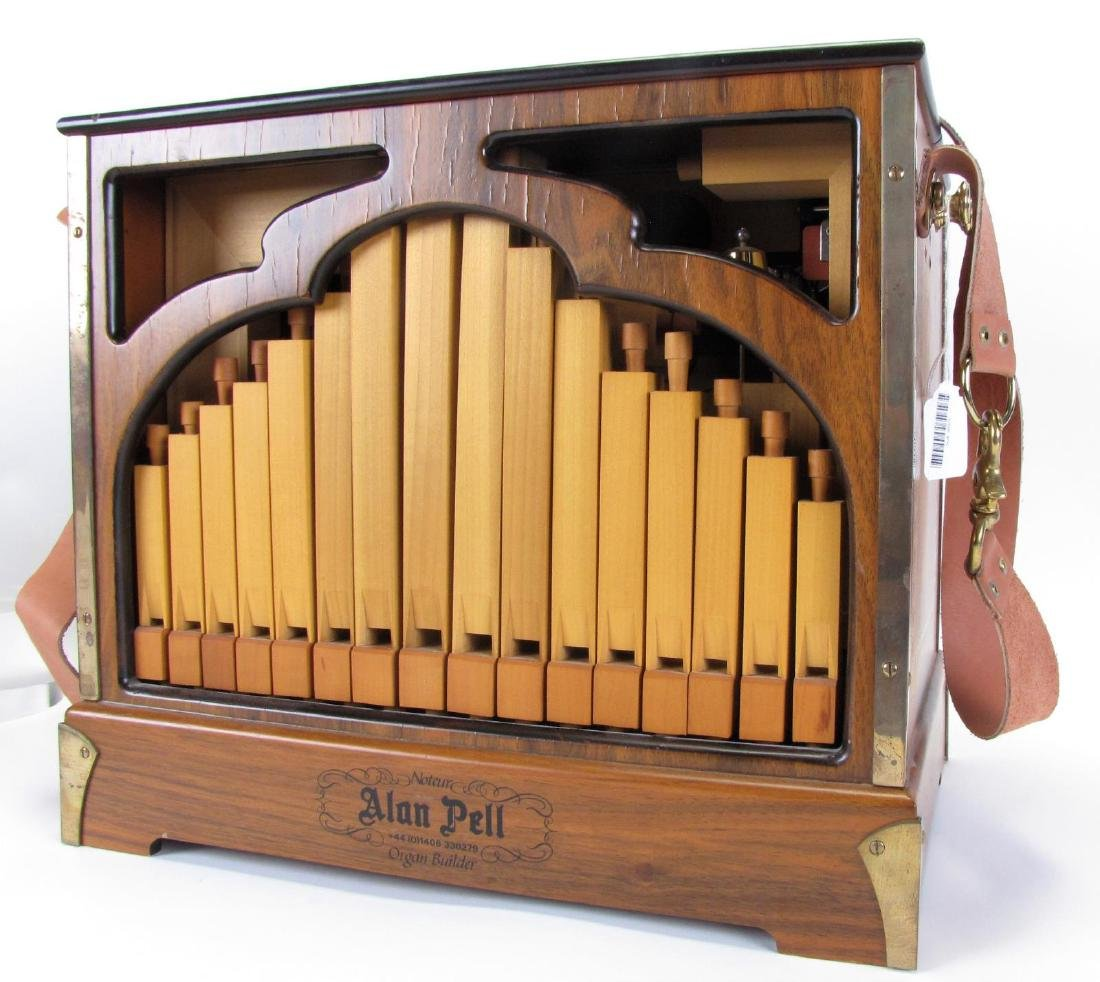 Alan Pell Harmonette 20 Note Pipe Organ