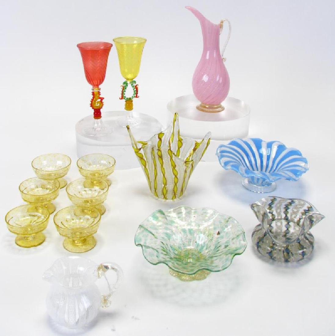 Group of Murano Art Glass