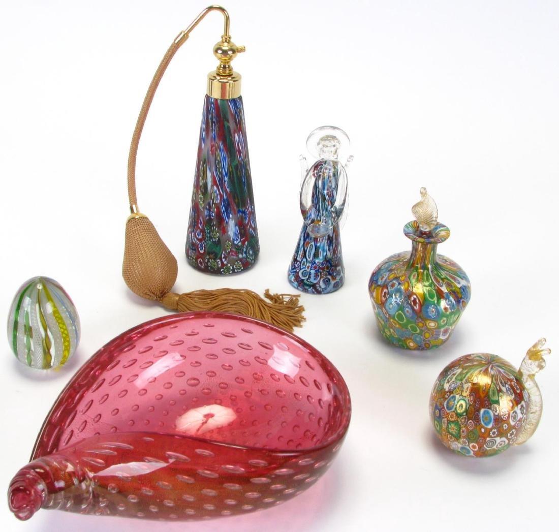 Group of Murano Art Glass