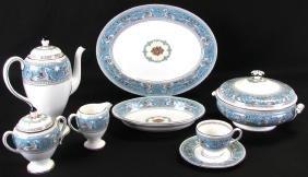 Set Of Wedgwood Turquoise 'florentine' China