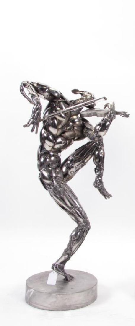 "Boban Ilic Original Sculpture, ""The Violinist"""