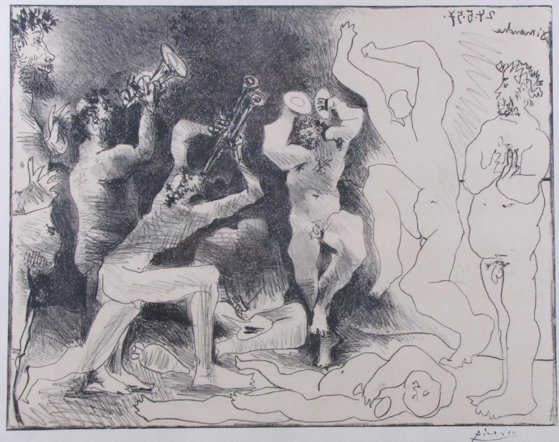 """Pablo Picasso Lithograph, """"La Danse des Faunes"""""""