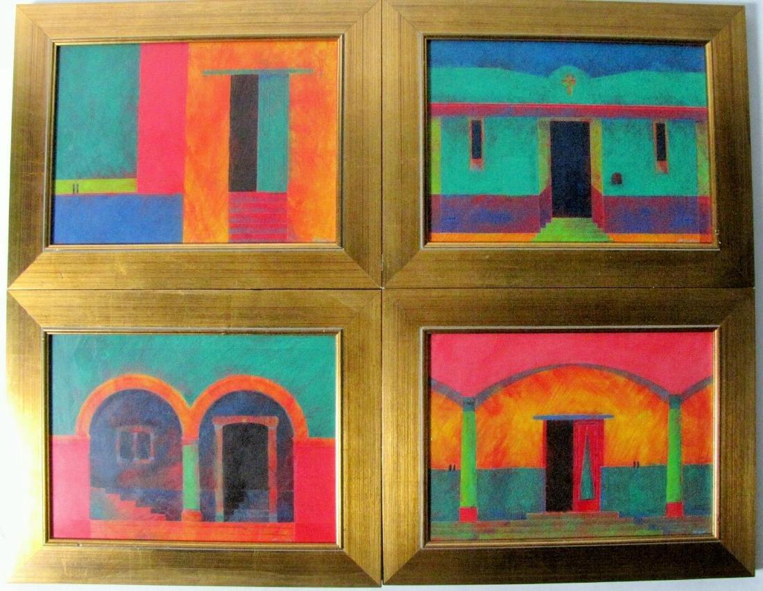 Jeffrey Becom (4) 10x14 O/B Mexican Doorways